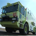 Bismarck Airport Fire Truck Photo